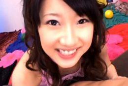 Pecker works magic in delightful beauty Yuki Aito's slit