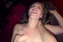 She LOVES getting rammed by big fat cock – Harper the Fox