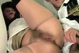 hairy old farmers wife fucked