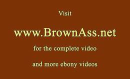Tattooed Booty Gal Gets Her Brown Ass Pounded