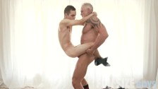 FunSizeBoys – Tiny twink fucked bareback by muscle daddy trainer