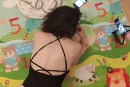 La baby-sitter enculée par le papa, Neyla Kimy (version complète)