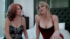 Redhead granny and mom wants me – Andi James and Cory Chase