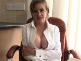 Unfaithful british mature lady sonia presents her gigantic h