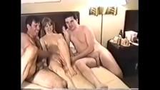 18yo Blonde Stripper Samantha DP in Homemade Gangbang Porn