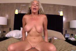 Anal Fucking Big Natural Tits Sexy Amateur Cougar POV