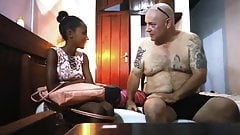 Black Ebony Escort Girl hart gefickt