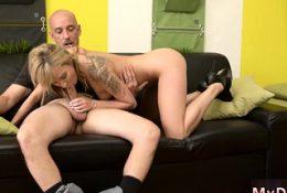 Blonde mom handjob playfellow's duddy xxx Would you