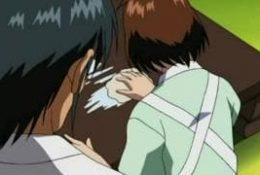 Jolie brune qui se fait baiser par grand père