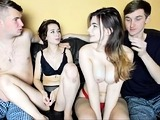 Smutty Group Sex mov presented by Group Sex Frenzy