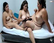 Venezuelan Midwifes 3BBWX All Girls Full Naked Touch Cunts Kissing   Scissors