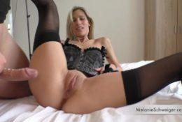 Cuckold – Melanie Schweiger is fucked during her friend wanks his cook.