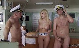 Donna Bell In Double Penetration With Captains