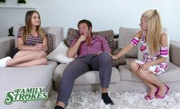 Familystrokes Milf Watches Her Big Tits Stepdaughter Get Fu…