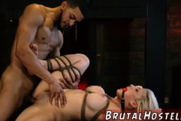 Granny bondage sex first time Big-breasted