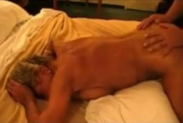 Granny Wife Cuckolding her Husband with Younger Man