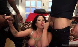 Hubby Gives Wife A Bdsm Biracial Gb