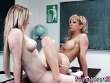 Mature milf tongues babes wet pussy