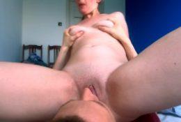 Facesitting Him Until I Cum – Amateur PAWG Pussy Licking