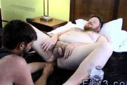 Fist gay massage stories Sky Works Brock's Hole with his