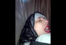 Hijab Slut Swallow Cum
