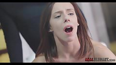 Hot Babe bends over for Doggystyle Anal Sex