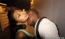 Indian Teen Gives Sloppy Blow Job In Public Alley | Amira A…
