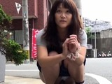 Japanese teens spraying piss