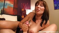 Mother's Day seduction – Zoey Holloway Taboo Handjob