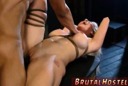 Real bondage anal Big-breasted ash-blonde sweetheart