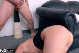 BANG Casting – Gia Paige Throat fucked & Loving it!