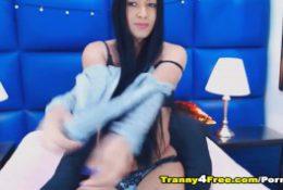 big cock tranny gorgeous whore hot solo masturbation