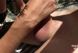 College Teen Has Outdoor Casting Deepthroat and Riding – CarryLight