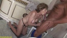 grandma deepthroat anal fucked