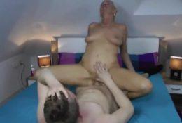 Hot Milf Fuck Young Boy (HD)