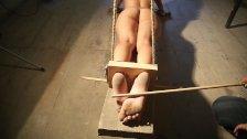 Luna tortured with falaka