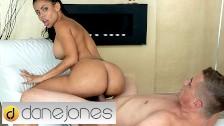 Dane Jones Thicc Phat Big Booty Latina Canela Skin Makes Guy Cum Twice
