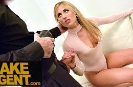 Fake Agent Super Cute Blonde Loves Hardcore Casting With Big Cock Agent