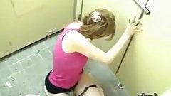 Flinging surprise loads on japanese ladies