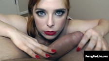 Hot Cum Splattered Penny Pax Gets Her Face Fucked & Cummed In!
