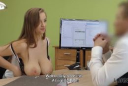 Loan4k. Sexy Babe Gives It To With Loan Agent To Repair Her Husbands Car