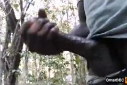 (Must Watch) Horny BBC Teen masturbating In The Woods With Dirty Talk And Huge Cumshot