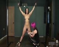 Stimulation Of Tied Girl