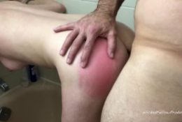 [PAINAL] Submissive Girl Gets Her Tight Little Ass Fucked In The Shower
