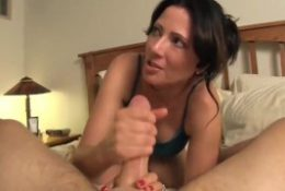 With horny MILF on vacation