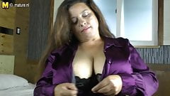 Latin MOM with huge rack enjoys a hard cock