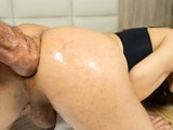 Latina tranny babe Gaby Lins gets fisted in her big ass