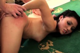PASCALSSUBSLUTS Petite Beauty Rina Ellis Hammered By Daddy