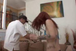 Alex Gonz avec Sasha Pain pour un porno