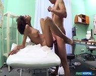 Ebony Babe Visits Doctor